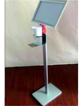 Display Stand Dispensador De Gel Desinfectante