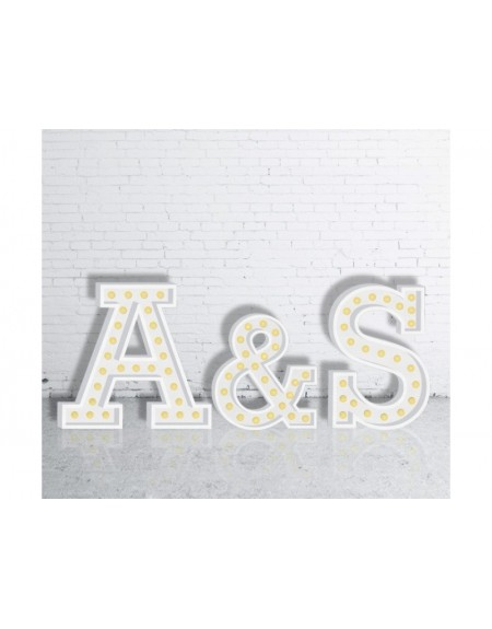 Letras Gigantes con luz