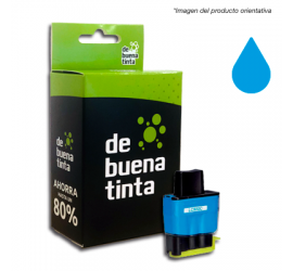 Cartucho Alternativo al Brother LC 900 Cyan 12 ml