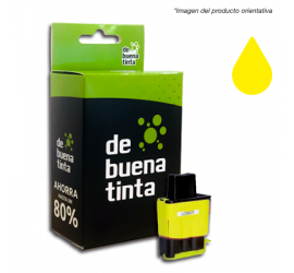 Cartucho Alternativo al Brother LC 900 Amarillo 12 ml
