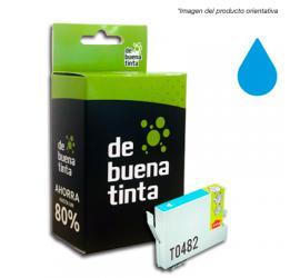 Cartucho Alternativo al Epson T0482 Cyan 17 ml